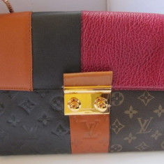 GEANTA LOUIS VUITTON - FASHION - MODEL DEOSEBIT !!! - Geanta Dama Louis Vuitton, Geanta umar un maner, Multicolor