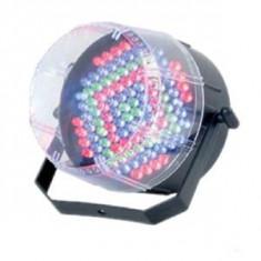 Nou 2013! STROBOSCOP PE LEDURI FULL COLOR RGB, SENZOR ACTIVARE MUZICA. - Stroboscop club