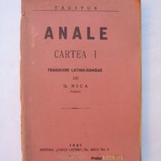 Anale - Cartea I - Tacitus - Istorie