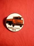 Insigna Camion Kamaz 5410 - 1976 -URSS