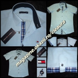 CAMASA BARBATEASCA IN BLEU GEN FIRMA TOMMY HILFIGER MANECA SCURTA REGULAR FIT
