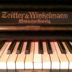 Pianina ZEITTER WINKELMANN BRAUNSCHWEIG
