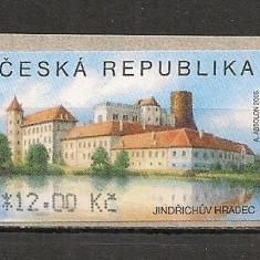 Cehia.2005 Timbre de automat:Castelul Jindrichuv SC.304 - Timbru de Automat