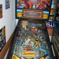 Flipper Pinball - Baywatch - SEGA, Joc Distractiv, Game Room. - Foosball