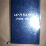 Mihai Eminescu - Poezii / Poesies editie bilingva romana - franceza - Carte de lux