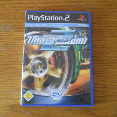 DVD PLAYSTATION 2 --- NEED FOR SPEED UNDERGROUND - Jocuri PS2 Sony