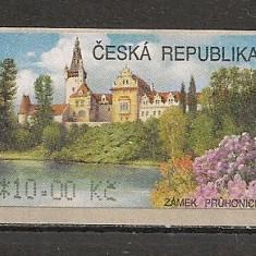 Cehia.2008 Timbre de automat:Castelul Pruhonice SC.305 - Timbru de Automat