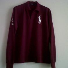 Tricou POLO Ralph Lauren, AUTENTIC, Made in USA - Tricou barbati Ralph Lauren, Marime: XL, Maneca lunga