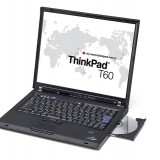Laptop IBM Lenovo Thinkpad T60 - Laptop Lenovo, Diagonala ecran: 15, 1 GB, 80 GB