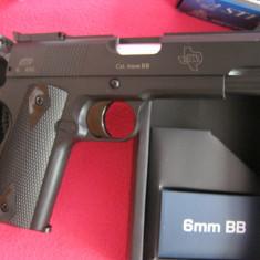 Pistol airsoft STI LAWMAN ( Colt 1911 mai scurt ) cu gaz - Arma Airsoft Asg - Danemarca