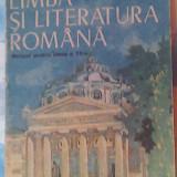 Limba si literatura romana-manual pentru clasa a XII-a (1991) - Manual scolar, Clasa 12