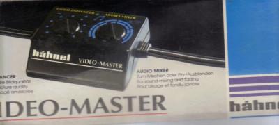 HAHNEL - VIDEO MASTER - VIDEO ENHANCER / AUDIO MIXER 240V foto