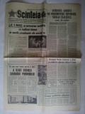"""Ziarul Scanteia Nr. 9835 / 9 aprilie 1974  Interviul acordat de presedintele Republicii Nicolae Ceausescu, ziarului """" The Guardian"""""""