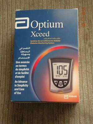 Aparat de glicemie Optium Xceed. Absolut Nou!!! foto