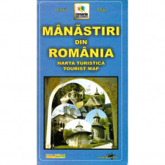 Grai Harta Manastiri din Romania - Harta Turistica
