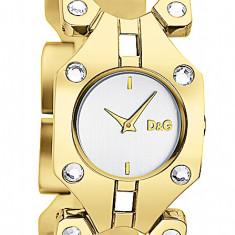 Ceas dolce gabanna 0402 - Ceas dama Dolce & Gabbana, Lux - elegant, Quartz, Placat cu aur, Rezistent la apa
