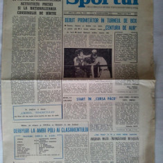 Ziarul Sportul Nr. 7759 / 7 mai 1974 - pag. 4 Nastase l-a invins pe Taylor, la Portland