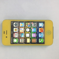 iPhone 4 Apple NEVERLOCK GALBEN, Negru, 16GB, Neblocat
