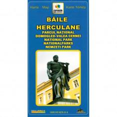 Grai Harta Baile Herculane - Harta Turistica