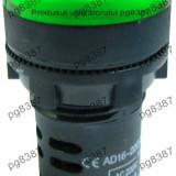 Indicator cu bec, 220V, 29x51mm, verde, AD16-22 - 124831