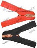 Cleme crocodil 100A, 105x80mm, set rosu, negru - 122748