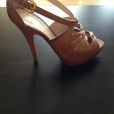 Sandale Prada - Sandale dama Prada, Culoare: Nude, Marime: 37, Nude