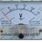 Ampermetru analogic de panou - 15 A-111476