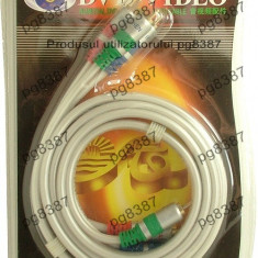 Cablu RCA X 3 tata - RCA X 3 tata, 1,5m - 128231