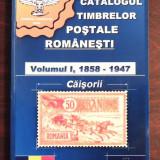 CATALOGUL TIMBRELOR POSTALE ROMANESTI, VOL.1 - ZIMBRUL CARPATIN