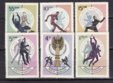 Romania 1966 - Fotbal,serie completa neuzata