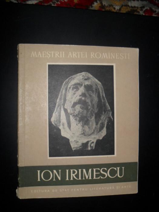 ION IRIMESCU=ALBUM DE PICTURA/ARTA