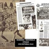 Revista SPORT - 1989 - STEAUA BUCURESTI- fotbal, CSS VIITORUL CLUJ-NAPOCA- basket feminin