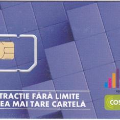 ROMANIA GSM SIM PHONECARD