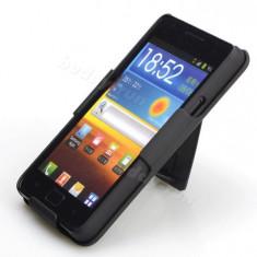 Toc prindere curea silicon rigid Samsung galaxy s2 i9100 + folie ecran  expediere gratuita