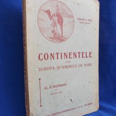 TRAIAN A.BIJU - CONTINENTELE [ FARA EUROPA SI AMERICA DE NORD ] - CL. II-A- 1938