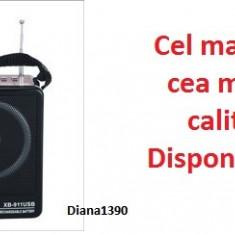Boxa Portabila Waxiba Radio MP3 USB si card micro SD Acumulator
