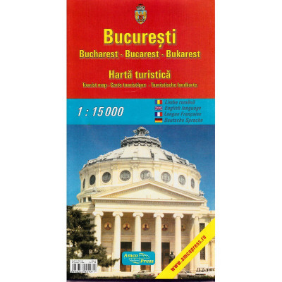 Amco Press Harta Bucuresti Turistica foto