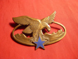Insigna veche Militara Cavalerie ,L= 7 cm