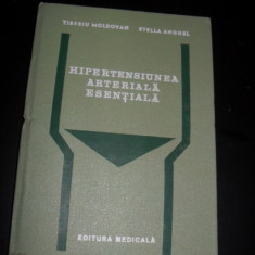 TIBERIU MOLDOVAN* STELLA ANGHEL - HIPERTENSIUNEA ARTERIALA ESENTIALA - Carte Cardiologie