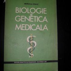 BIOLOGIE SI GENETICA MEDICALA - Mircea Covic
