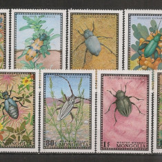 Mongolia.1972 Insecte SM.223 - Timbre straine, Nestampilat