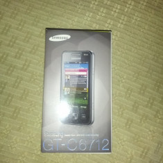 Vand telefon Samsung Galaxy GT-C6712 dual sim nou cutie, Negru, Nu se aplica, Neblocat, Fara procesor