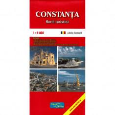 Amco Press Harta Constanta Turistica - Harta Turistica