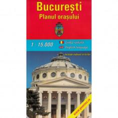 Amco Press Harta Bucuresti Planul Orasului - Harta Turistica