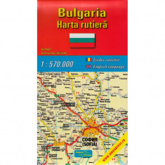 Amco Press Harta Bulgaria Rutiera - Harta Turistica