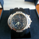 Festina Chronograph Blue Blacks Contactor Dial