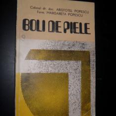 Boli De Piele - A. Popescu M. Popescu - Carte Pediatrie