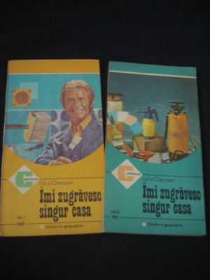 LUCA GHERASIM - IMI ZUGRAVESC SINGUR CASA 2 Volume {1986} foto