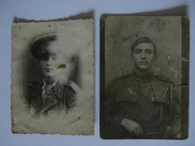 2 FOTOGRAFII MILITARI ROMANI DIN PERIOADA REGALISTA foto