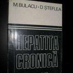 M.Bulacu, Hepatita cronica